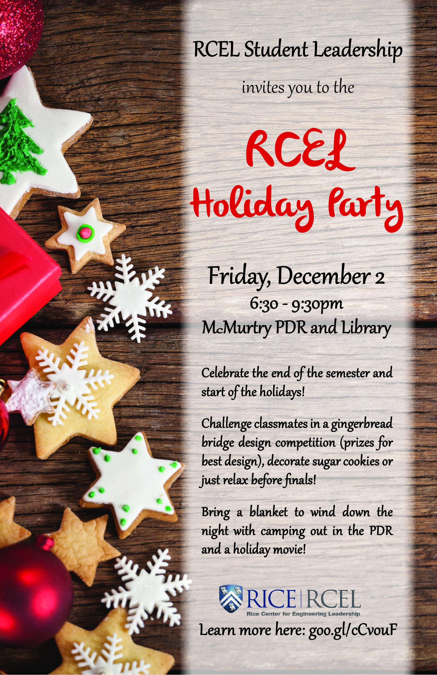 RCEL Student Holiday Party