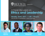 RCEL Ethics and Leadership Panel