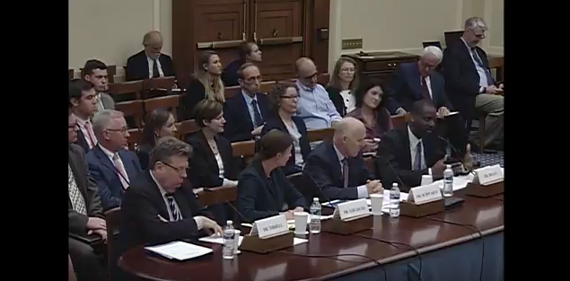 Watch Now: Higgs at the US U.S. House Committee on Science, Space and Technology
