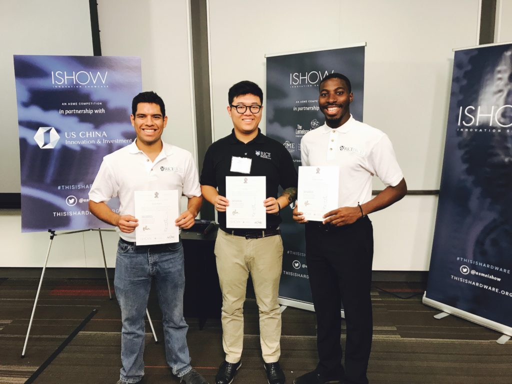 RCEL alumni win 2017 ASME iShow People's Choice Award